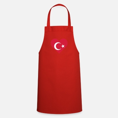 Turkey A Heart For Turkey - Cooking Apron