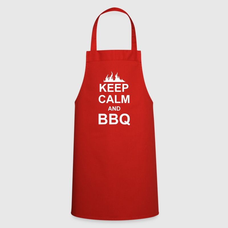 keep calm and BBQ - Keukenschort