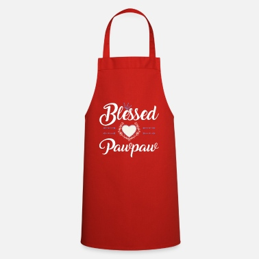 For Pawpaw BLESSED PAWPAW - Apron