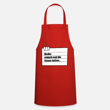 Note Clue note - Cooking Apron