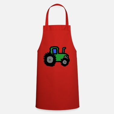 Tractor tractor - Cooking Apron