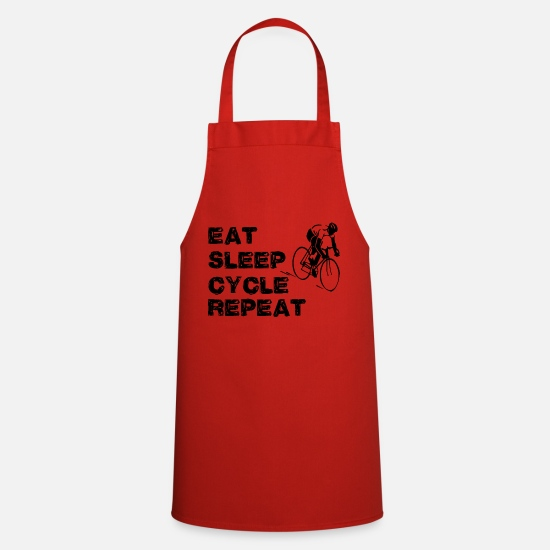 Triathlet Aprons - biking - Apron red