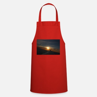 Flight sunset flight - Cooking Apron