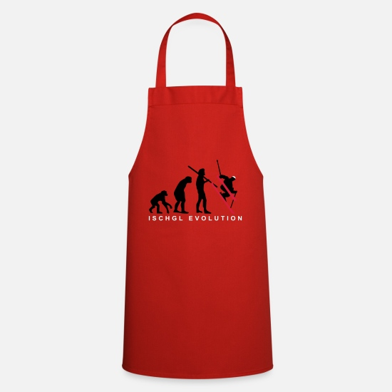 Ski Aprons - Ischgl Ski Evolution - Apron red