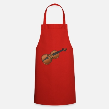 Fiddle Violin / fiddle - Cooking Apron