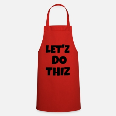 Text text - Cooking Apron