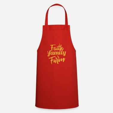 Faith Family Farm Christian Living - Apron