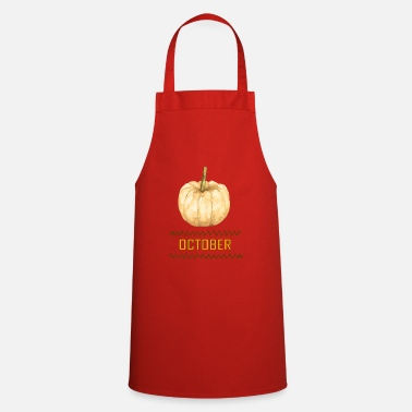 October october - Cooking Apron
