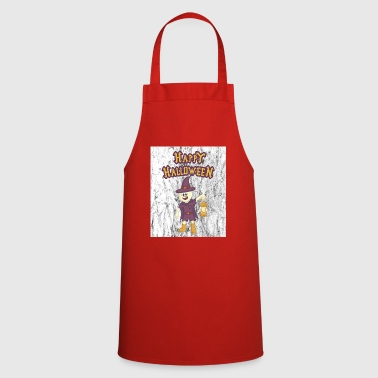 Name HAPPY HALLOWEEN - Cooking Apron