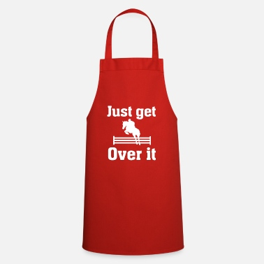 Show Jumping Rider Riding Show Jumping Equestrian Horse - Cooking Apron