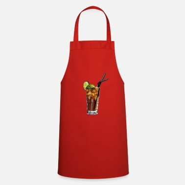 Long Drink Long Island ice tea cocktail long drink gift - Apron