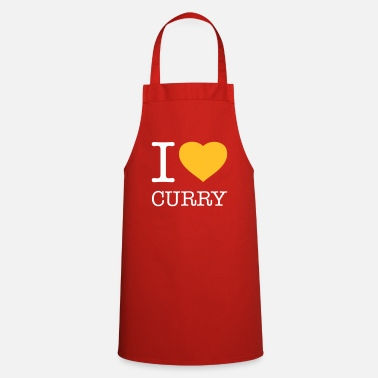 Curry I LOVE CURRY - Cooking Apron