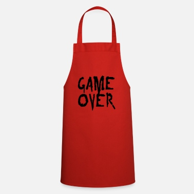 Game Over game over - Apron