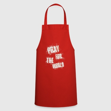 Pray for the World - Cooking Apron