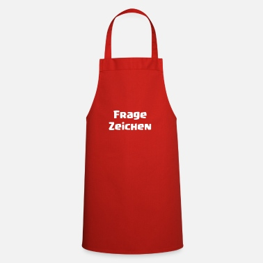 Question Mark Question mark - Cooking Apron