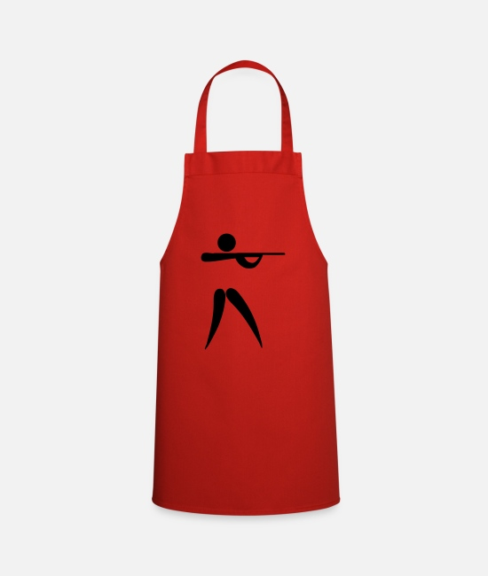 Hunt Aprons - shooting os - Apron red