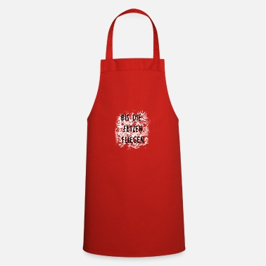 Piece Of Paper Until the scraps fly - Cooking Apron