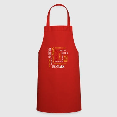 European countries - Cooking Apron