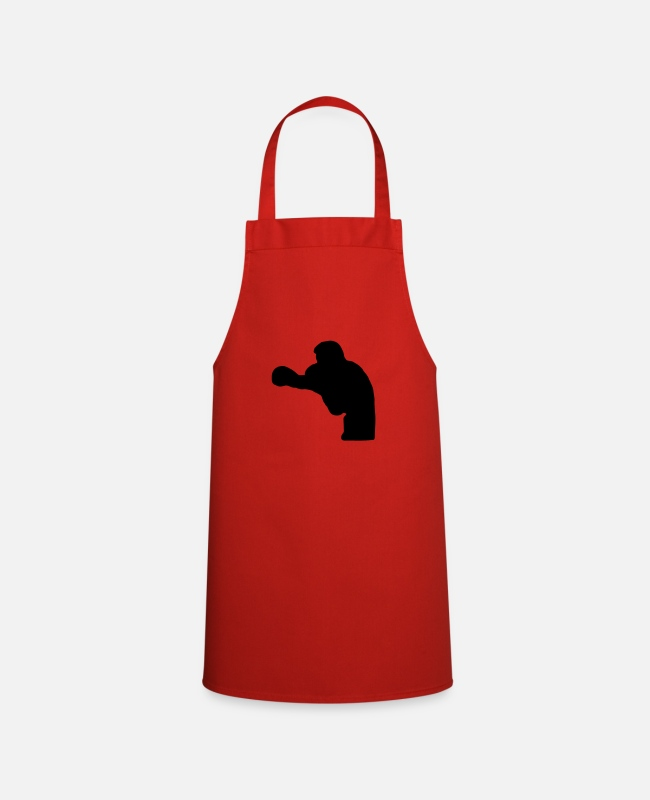 Fighter Aprons - boxer - Apron red