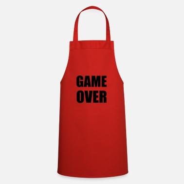 Game Over game over - Tablier
