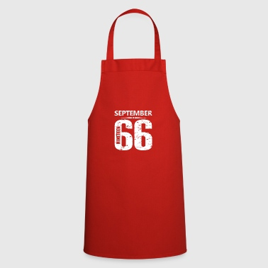 September 1966 Jersey Number - Cooking Apron