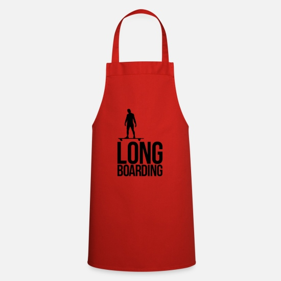 Longboard Aprons - long boarding - Apron red