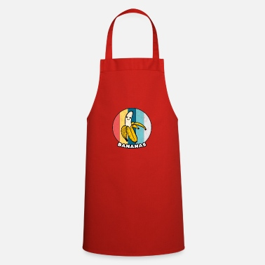 Yellow Banana Vintage Fruit Healthy Eating Sport Gift - Apron