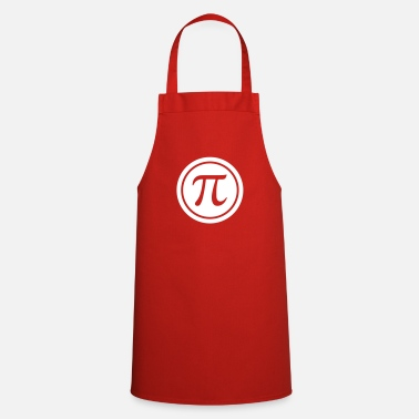 Mathematics PI (circle number) - Mathematics - Nerd & Geek - Cooking Apron