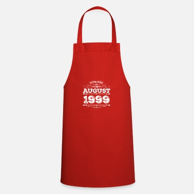 Established Established in August 1999 - Cooking Apron