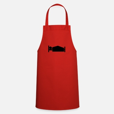 Parody Humorous Comedy Entertaining morning wood - Apron