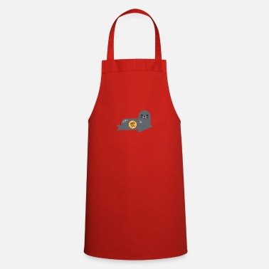Hedgehog Seal baby seal - Apron