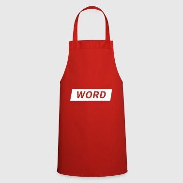 Words word - Cooking Apron