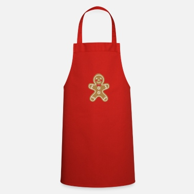 Funny Man yummy funny gingerbread man - Cooking Apron