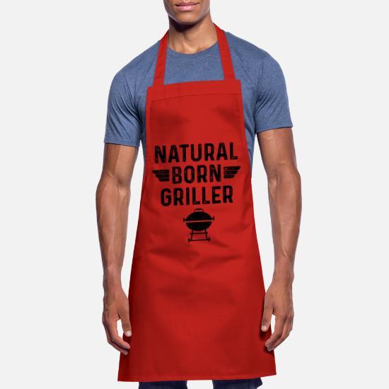 Tablier de Cuisine Hommes le Will Uniquement Grillage Drôle Tablier Barbecue