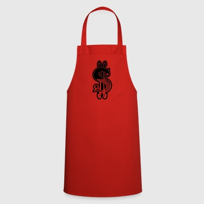 dollar sign - Cooking Apron