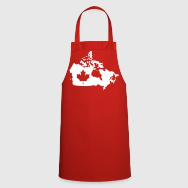 Canada Map - Canada Map - Cooking Apron