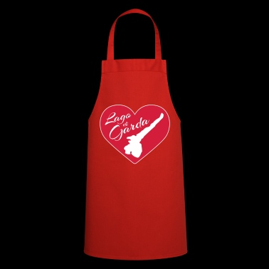 Lake Garda - The heart beats only for you - II - Cooking Apron