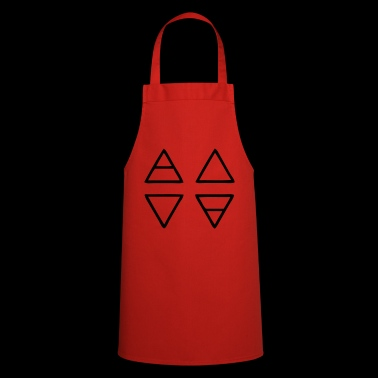Alchemy Symbols Nature - Cooking Apron