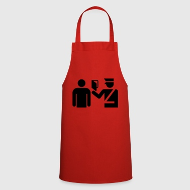 Passport passport control gift idea - Cooking Apron