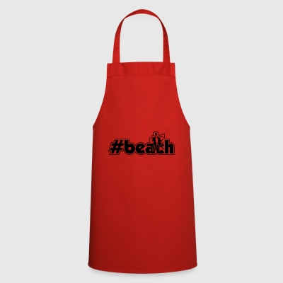 beach men xy outline - Cooking Apron
