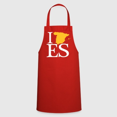 I love ES - I love Spain - Cooking Apron