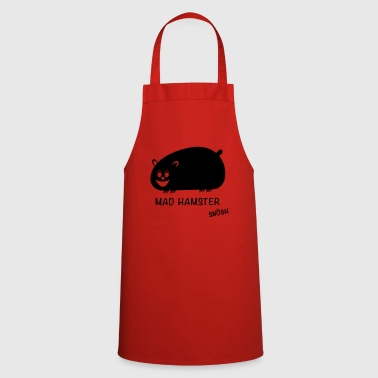 Mad Hamster black - Cooking Apron
