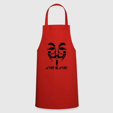 Guy Fawkes A Lie - Cooking Apron