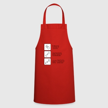 Tap snap or nap - Cooking Apron