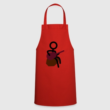 Guitarist at the campfire - Cooking Apron