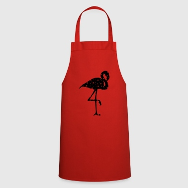flamingo stars - Cooking Apron
