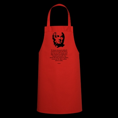 Seneca: No one can be ethically responsible - Cooking Apron