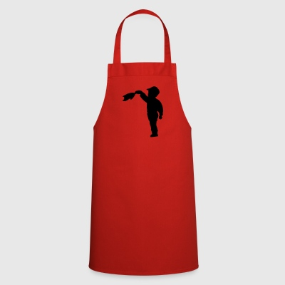 waving - Cooking Apron