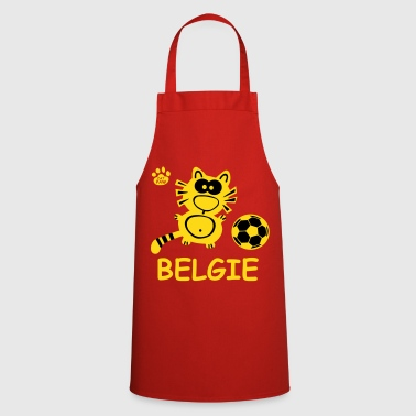 Catpaw Cat Cats Belgie Belgique Sport chat Foot  - Tablier de cuisine