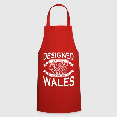 Designed by God - Wales M - Cooking Apron